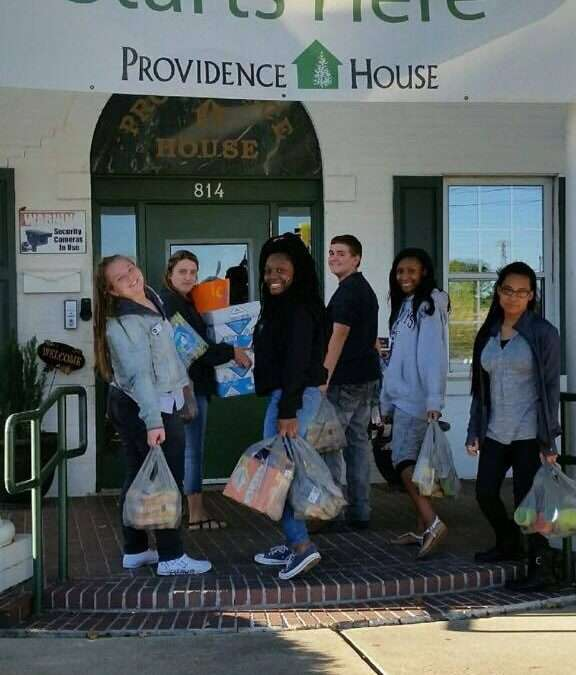 North Caddo 4-H Partners With Providence House