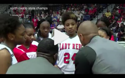The North Caddo Lady Rebels are 2A State Champions