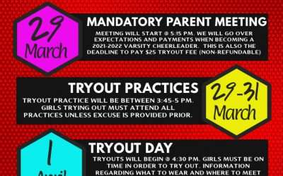 NC TITAN CHEER TRYOUTS